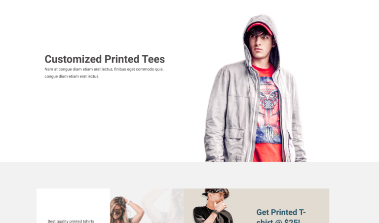 Customized Printed Tees