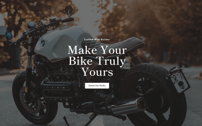 Your Bike Truly