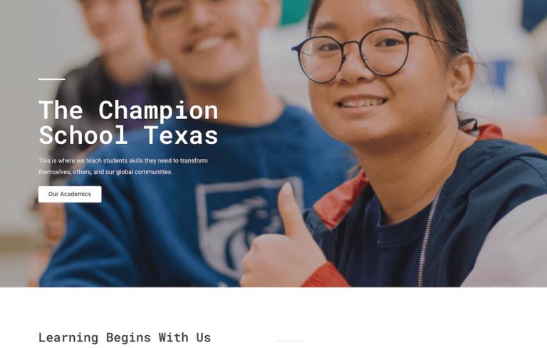 The Champion School