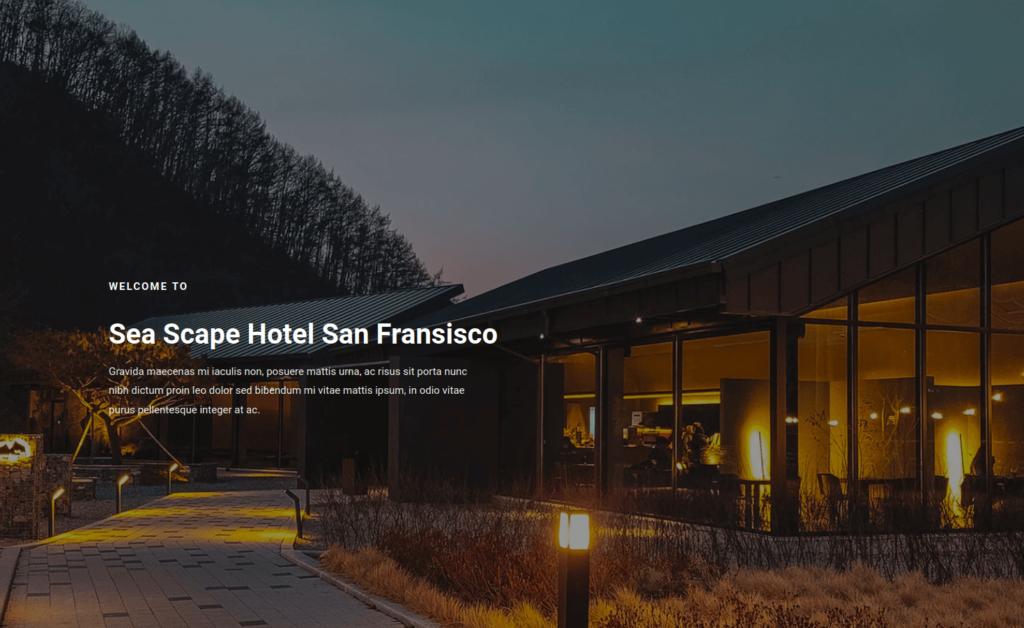 Sea Scape Hotel