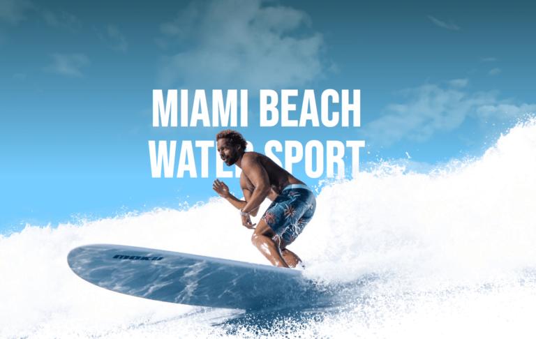 Miami Beach Water Sport