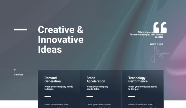 Creative & Innovative Ideas