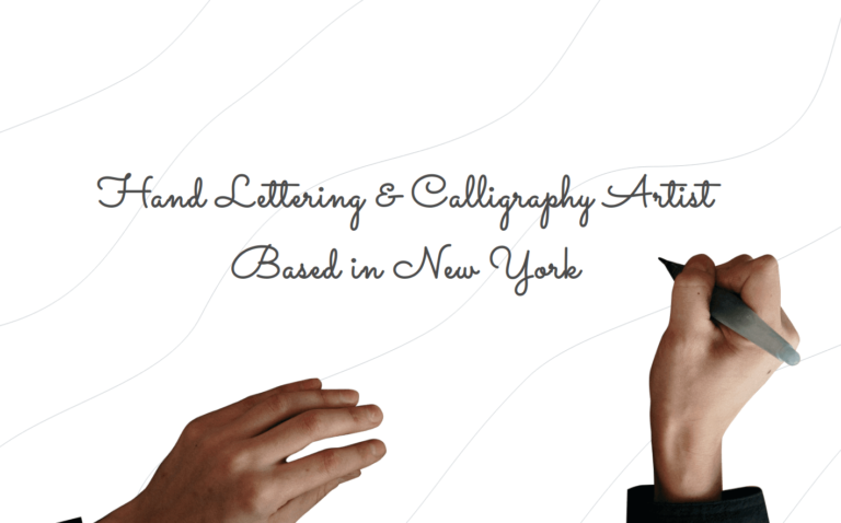 Hand Lettering & Calligraphy Artist