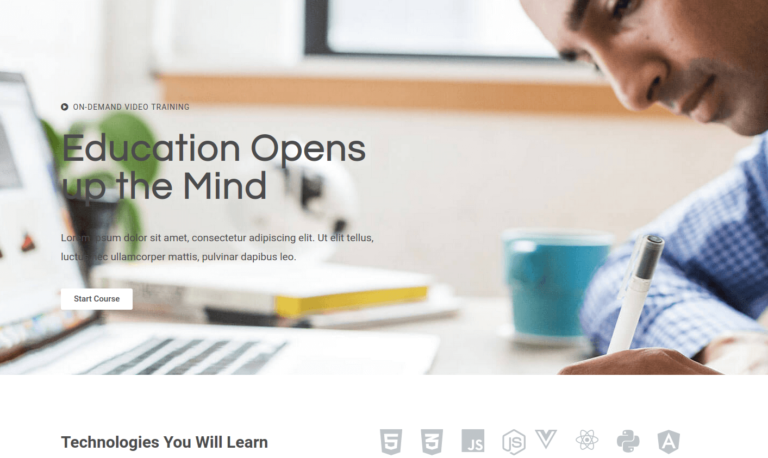 Education Opens up the Mind